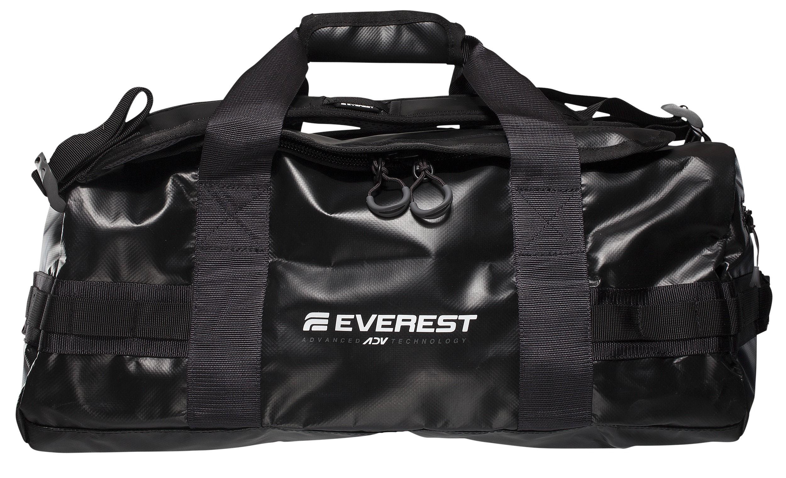Stadium, 1. & 2. krs. Everest-kassi kestävää, vettähylkivää materiaalia 39,90 €. Voi kantaa myös kuten reppua. Koko 40 l.