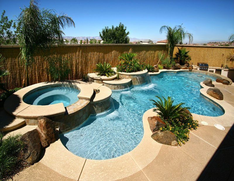 freeform pool design | Backyards and pools | Pinterest | Pool-Haus ...