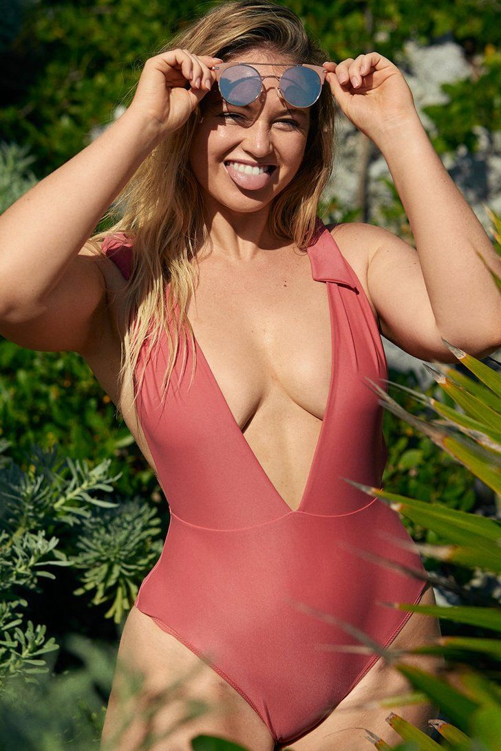 a3ef4c8c53 Iskra Lawrence does a great job dividing up her Instagram feed. It s equal  parts inspiring quotes and sexy swimsuit shots
