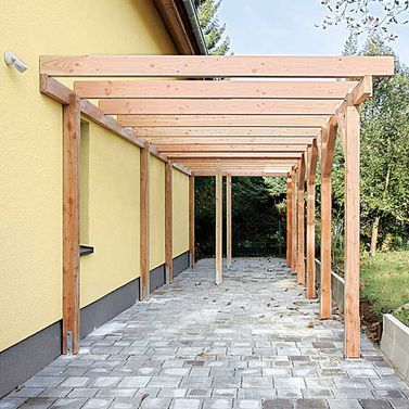 carport mit ger teraum terrasse pinterest gartenh user g rten und carport mit ger teraum. Black Bedroom Furniture Sets. Home Design Ideas