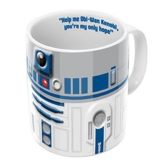 fc73f59af84 Star Wars R2-D2 3D Mug | Nerd Alert!! | Star wars, War, Mugs