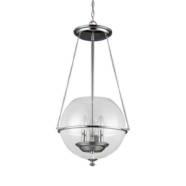 Sea Gull Lighting Havenwood 3 Light Globe Pendant Reviews Birch Lane