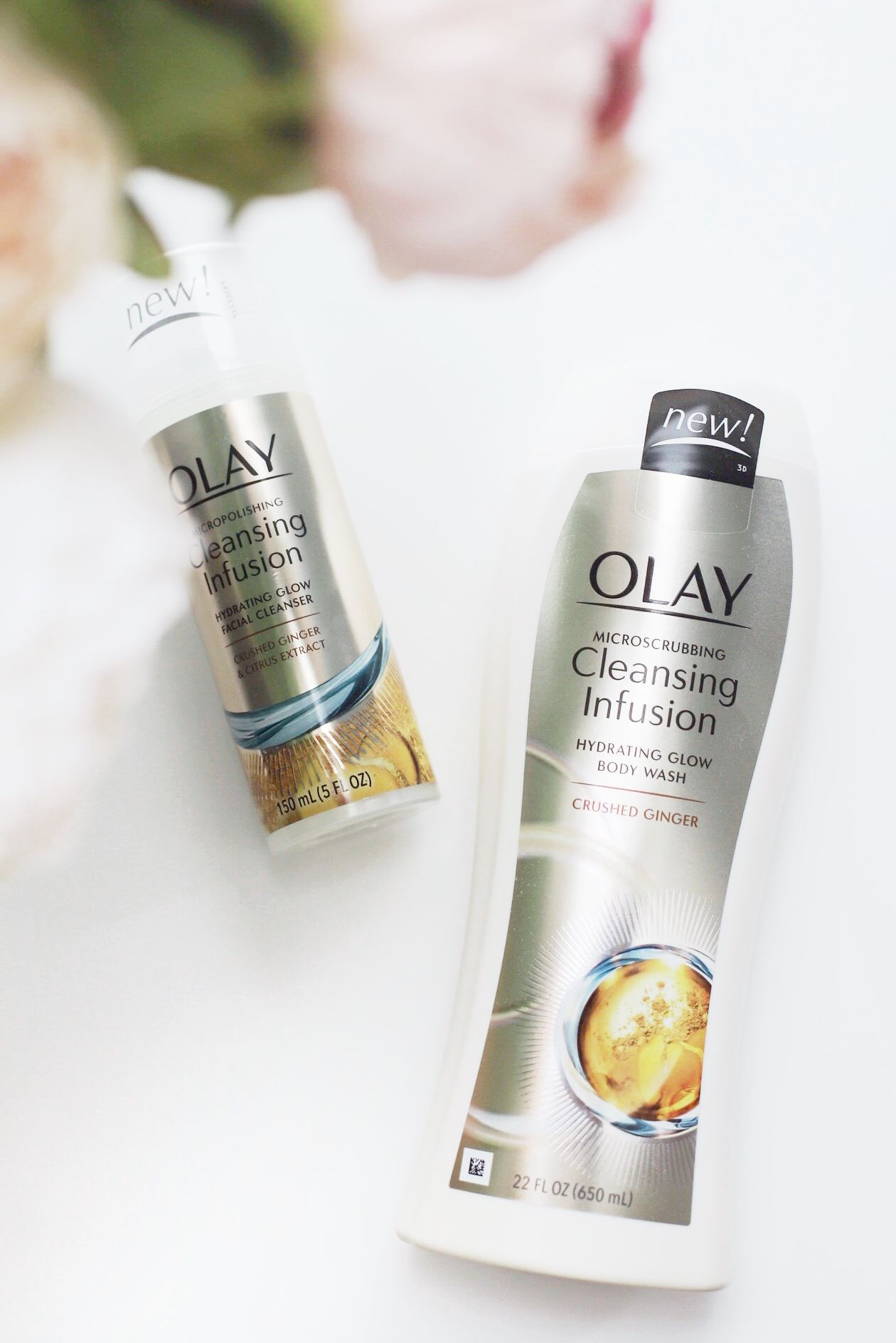 The results are in! olay Cleansing Infusions collection