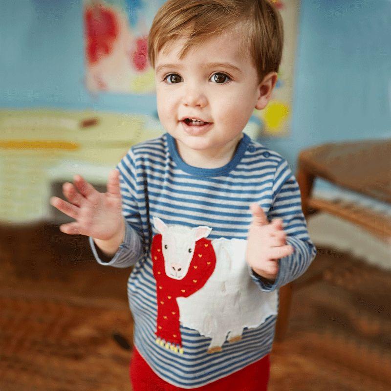 Fashion Hot Brand Kids Tops Cute Christmas Gift Boys T Shirt Baby