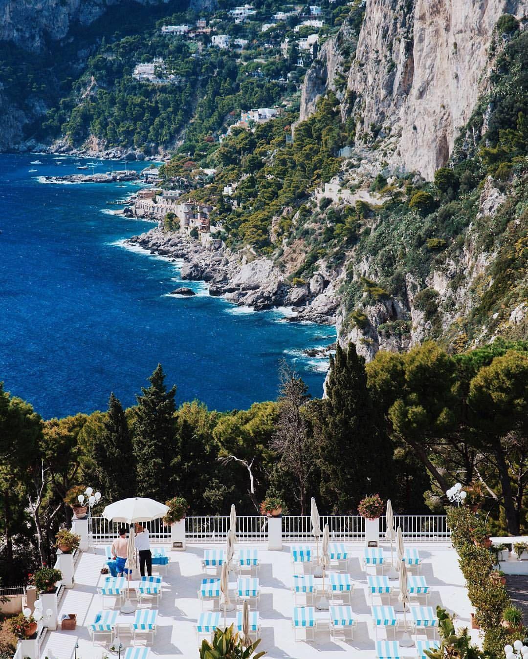 Hotel Villa Brunella Capri Italy Louiseroe Italy