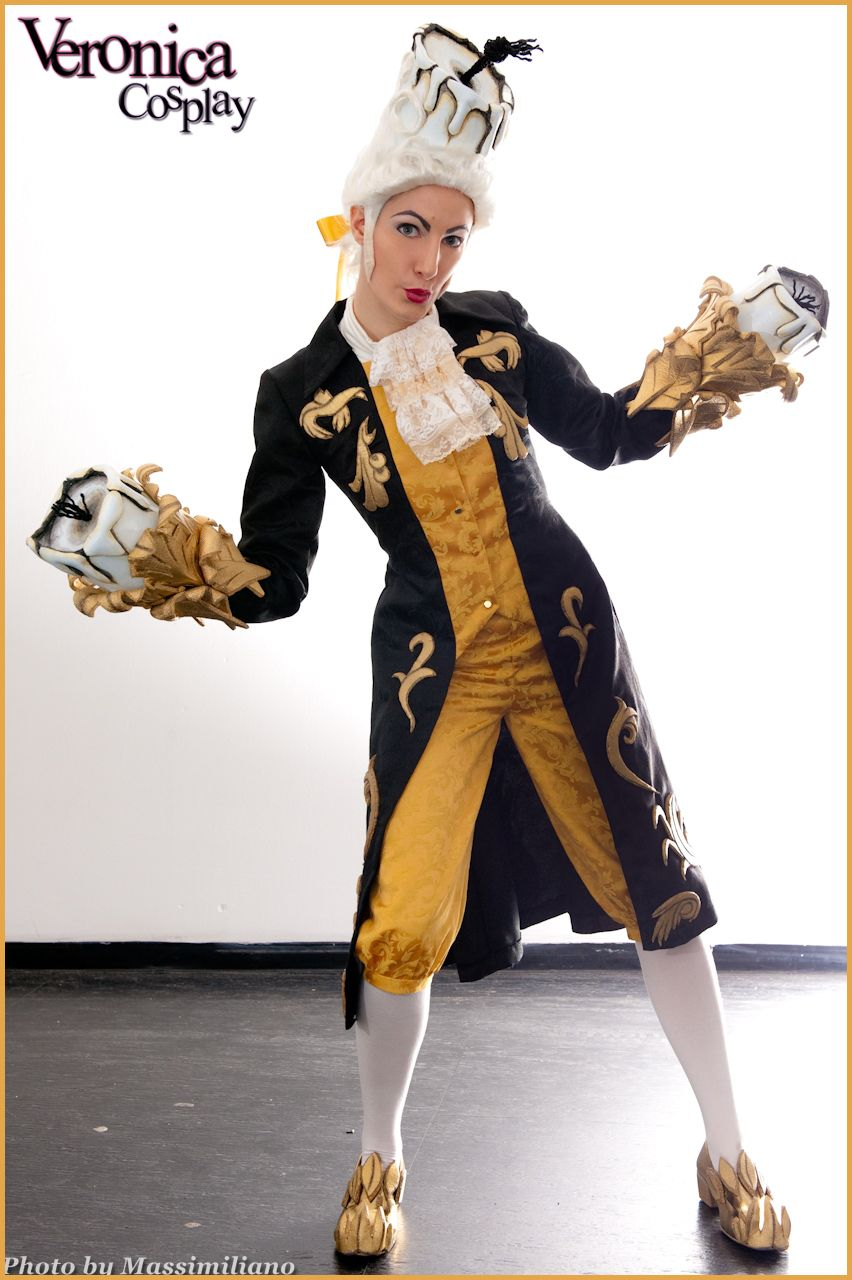Enfants · Amazing Lumiere cosplay from Beauty and the Beast! - 10 Belle  Cosplays