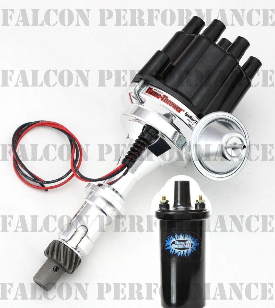 PerTronix Ignitor III/3 BILLET FlameThrower Distributor