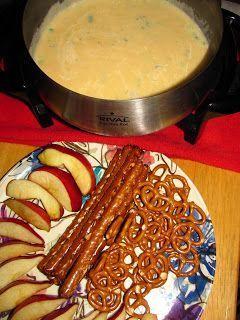The Melting Pot Garlic Herb Cheddar Fondue
