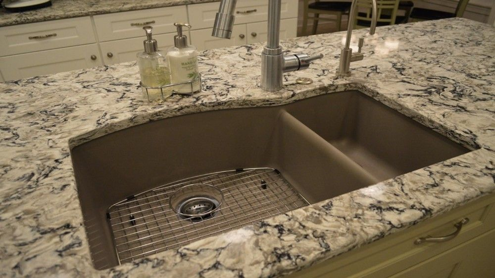Blanco Silgranit Kitchen Sink Made From Composite Granite It Helps Clean Itself And