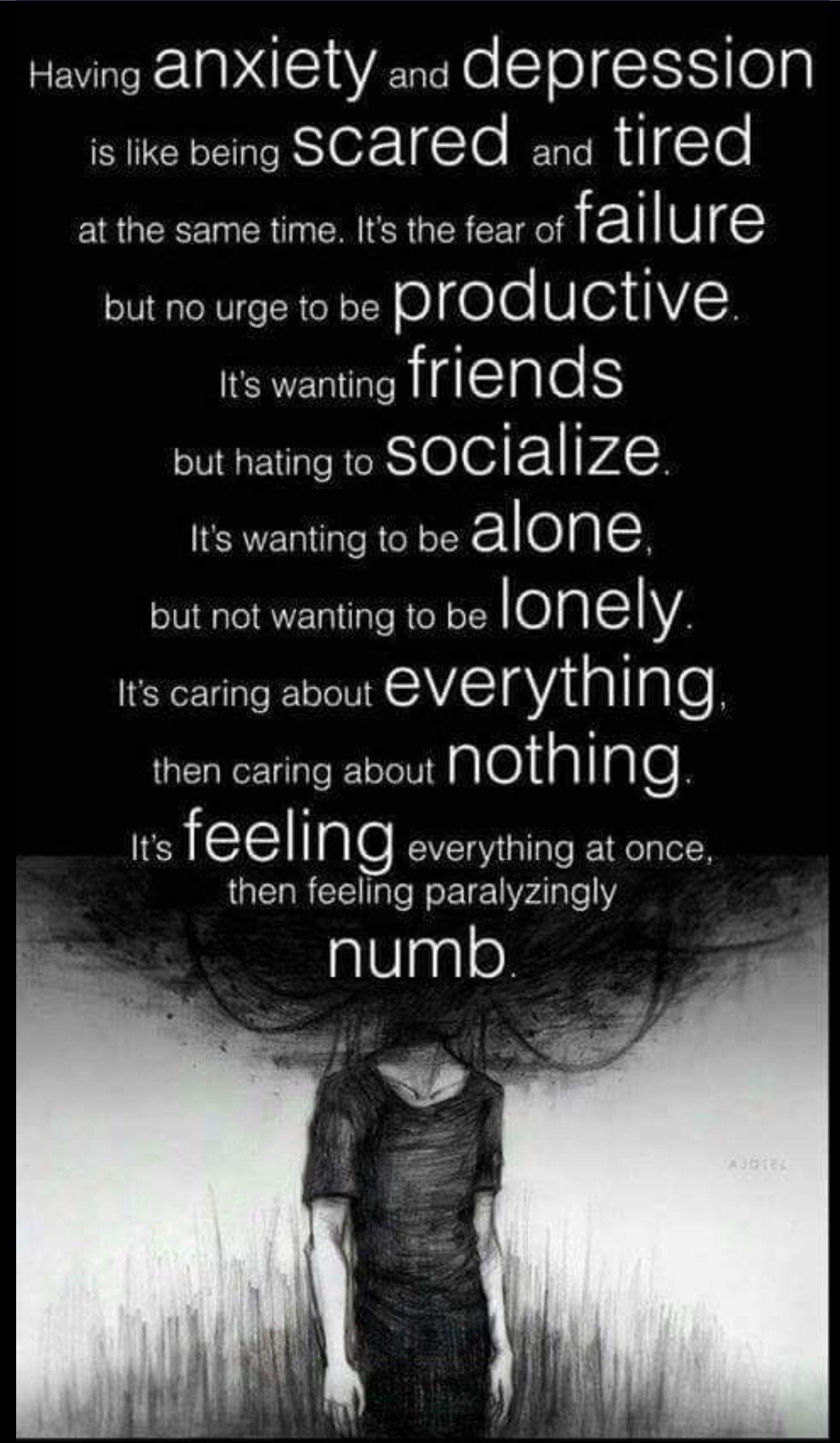 Feeling Numb Inside