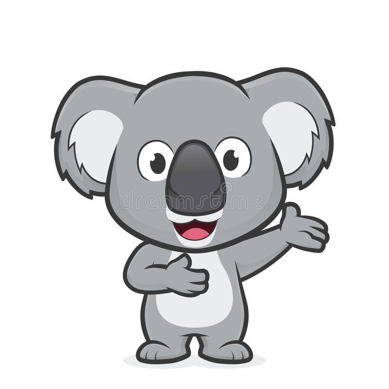 15+ Black And White Koala Clipart