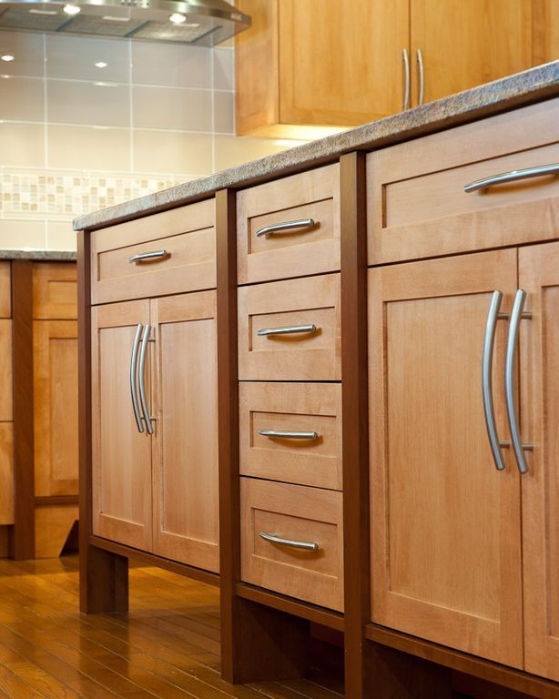 Best Craftsman Kitchen With Martel Square Cabinets White Oak 400 x 300