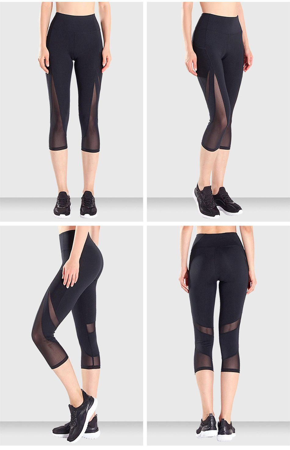 822772bbd627d Item Type: Full Length Sport Type: Yoga Gender: Women Model Number: High  Quality Sports Capris Material: Spandex+Polyester Fit: Fits smaller than  usual.