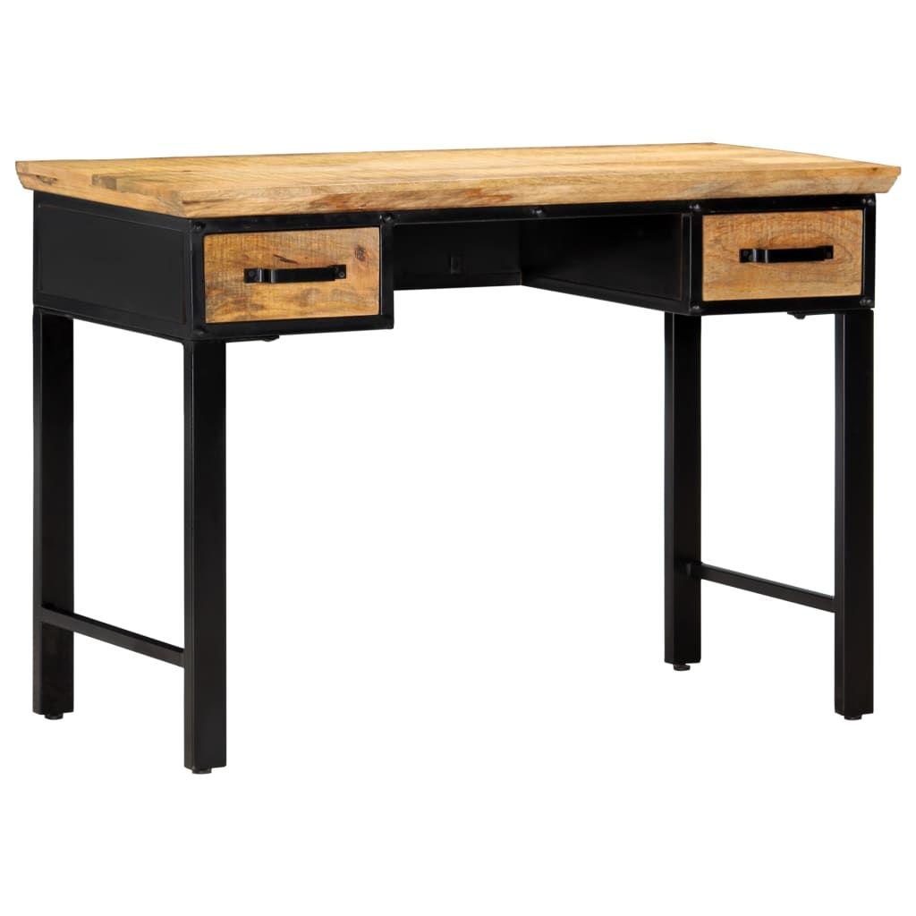 vidaXL Writing Table 110x50x76 cm Solid Mango Wood