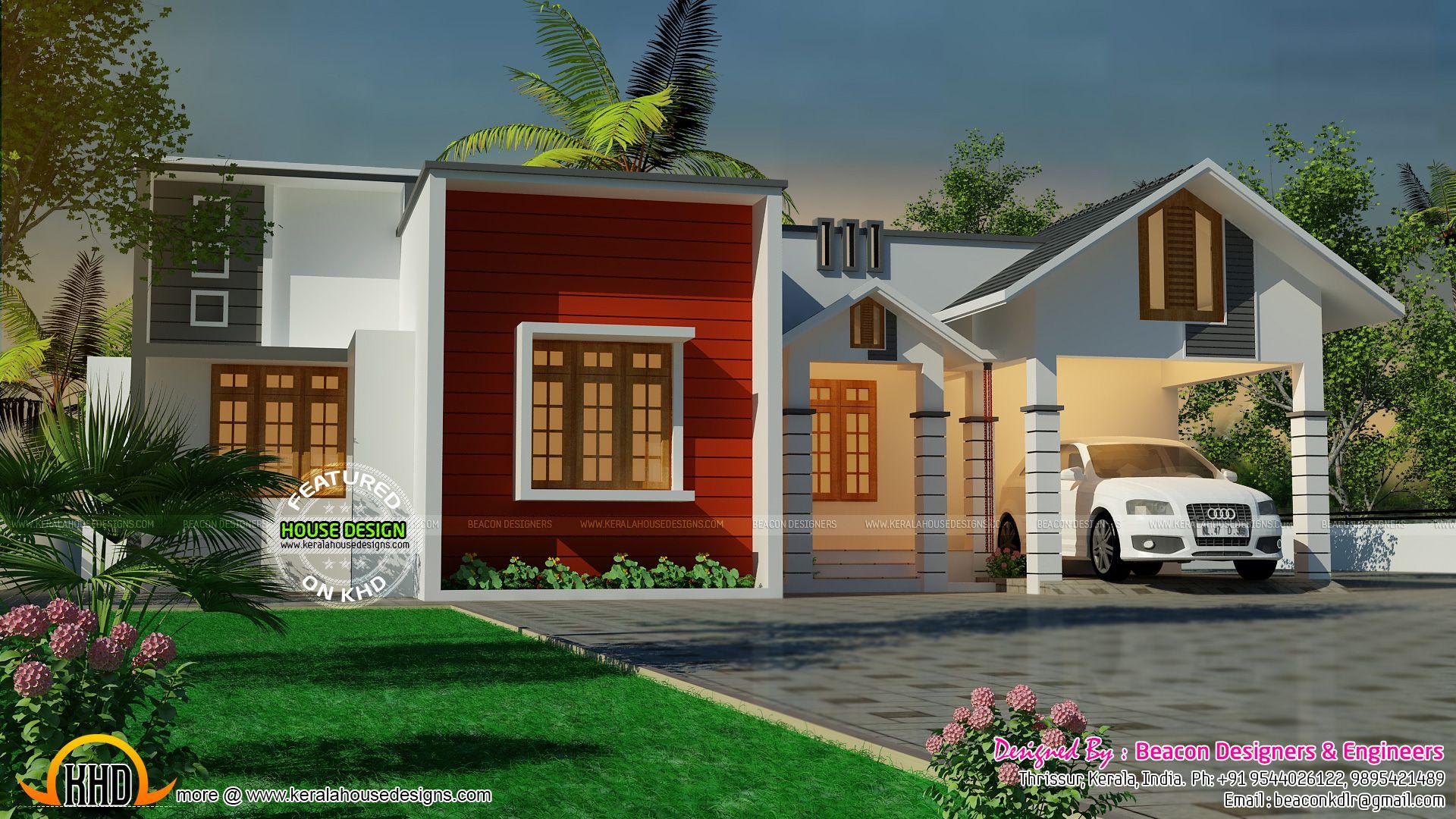 Single Level Designer Home | Single Floor House Plans | Design Drawing |  Pinterest | Design Floor Plans, House And Interiors