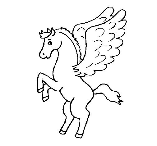 Pegaso Cavallo Alato Disegno.Disegno Cavallo Alato Cerca Con Google Cavalli Disegni