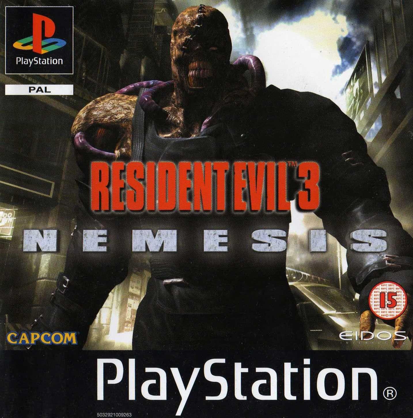 Resident Evil 3 Nemesis Playstation Resident Evil Nemesis