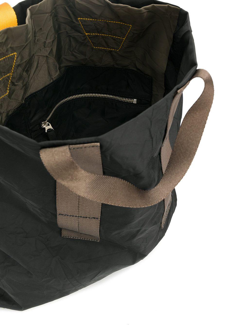 Marni Crinkle Effect Tote Bag