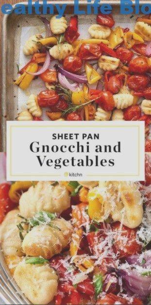 Gnocchi-Rezept und knuspriges Blattbrotgemüse