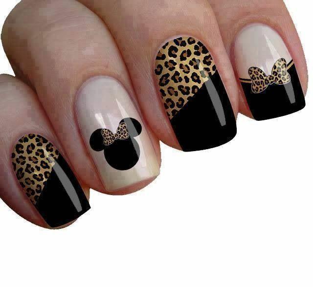 Disney, minie mouse nails #uñas …   Pinteres…