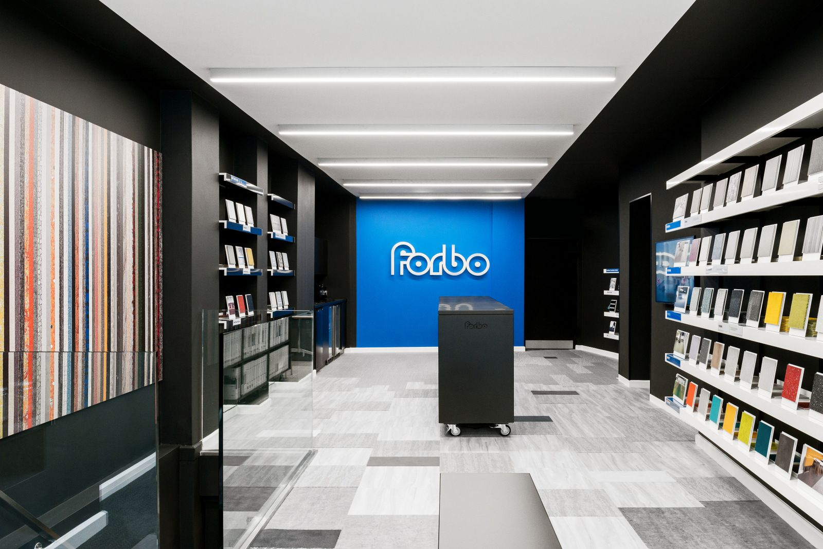 Office Tour Forbo Flooring Showroom & Offices London