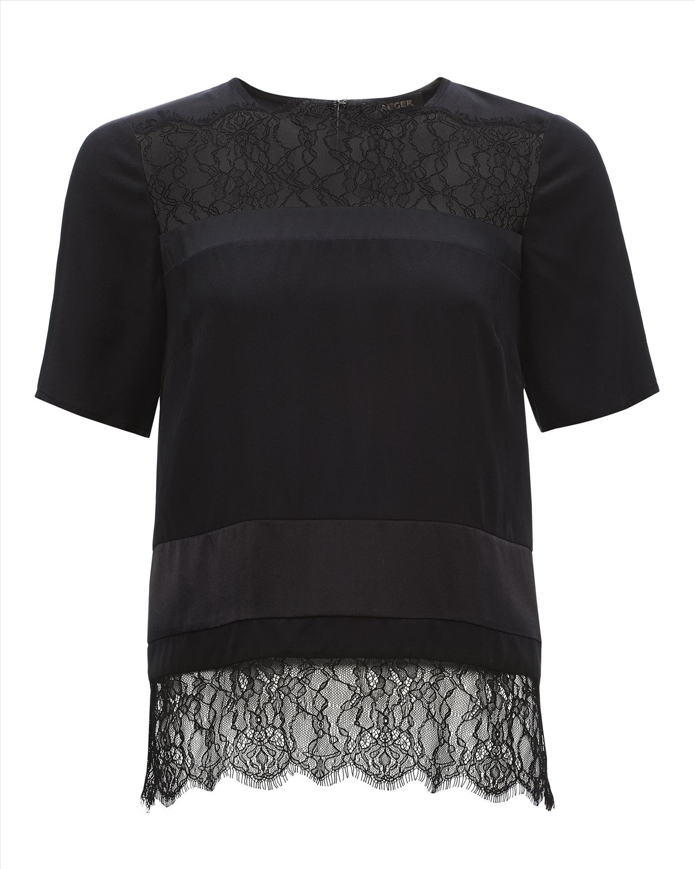 TOPSHOP Organza Dress in Black - Lyst