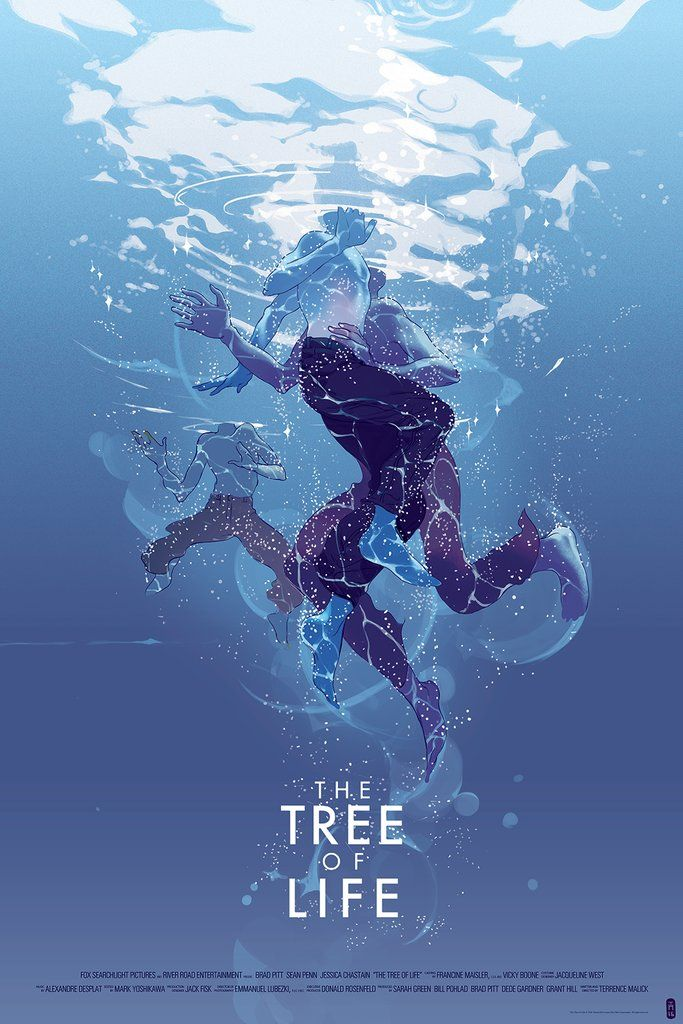 The Tree of Life (2011) by Tomer Hanuka for Mondo HD Wallpaper From ...