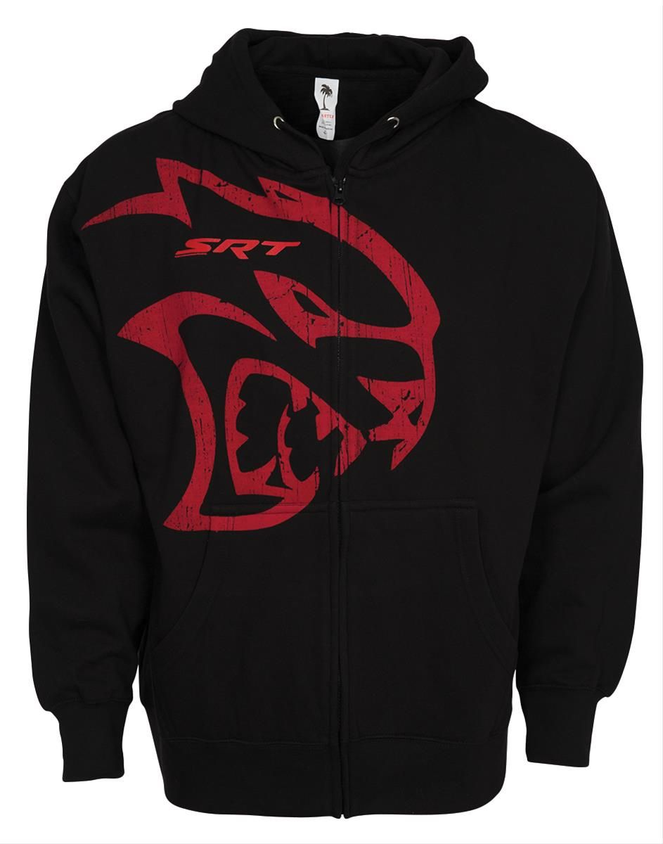 Dodge Srt Hellcat Zip Up Hoodie Stay Warm And Look Cool In This Dodge Srt Hellcat Zip Up Hoodie It Features Cotton Poly Construc Hoodies Cool Outfits Zip Ups