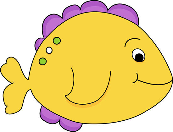 purple cartoon fish yellow fish clip art image yellow fish with rh pinterest com clipart of fish and chips fishing clipart