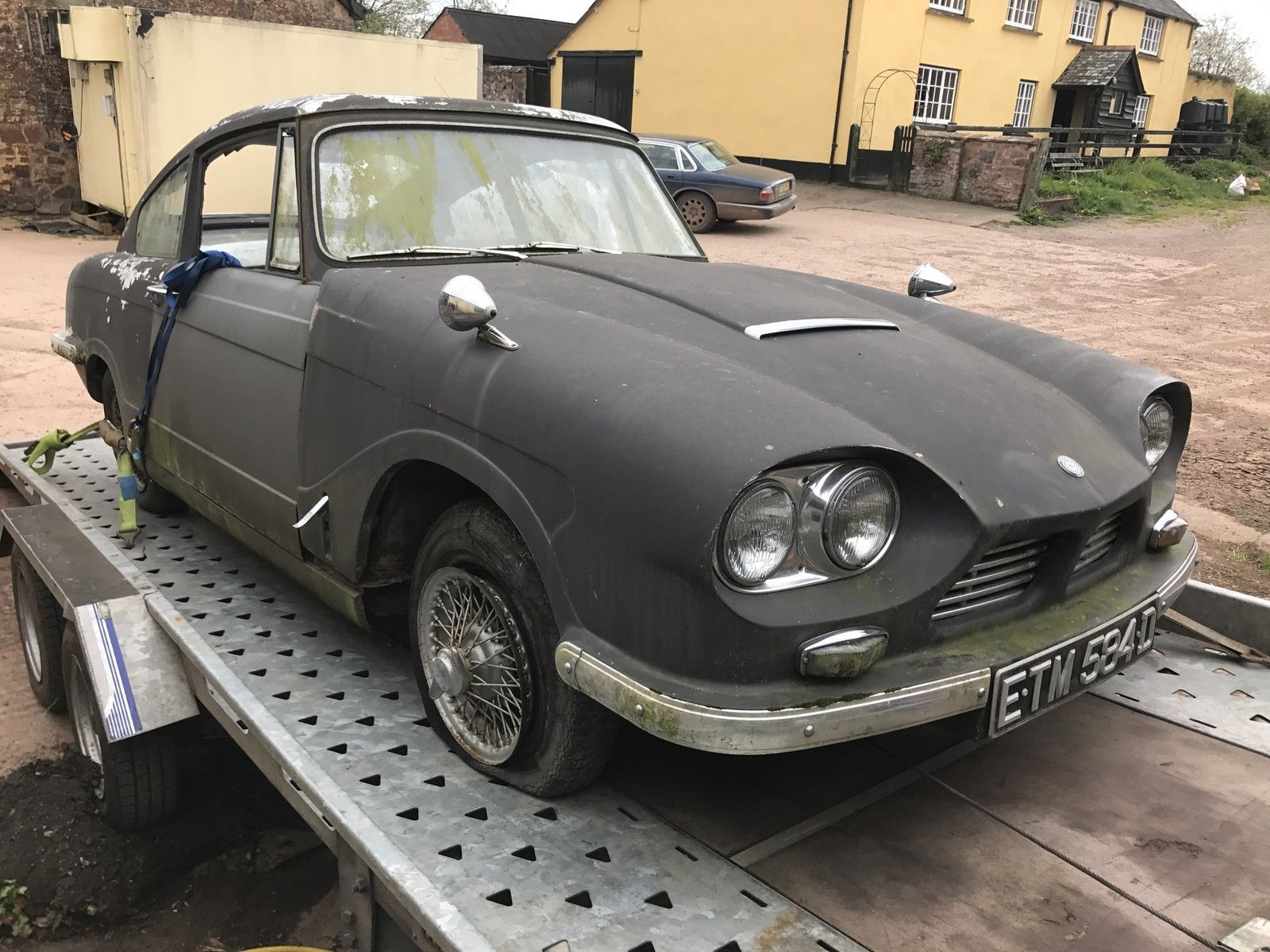 2 X 1966(D) BOND EQUIPPE GT4S FOR RESTORATION,VERY RARE CARS ...