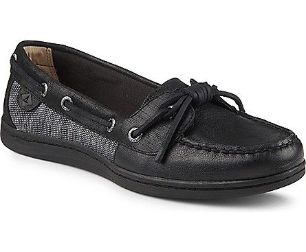 Barrelfish Boat Shoe. Leather Boat ShoesLeather LoafersBlack 7Sperrys  WomenSperry Top SiderShoe ...