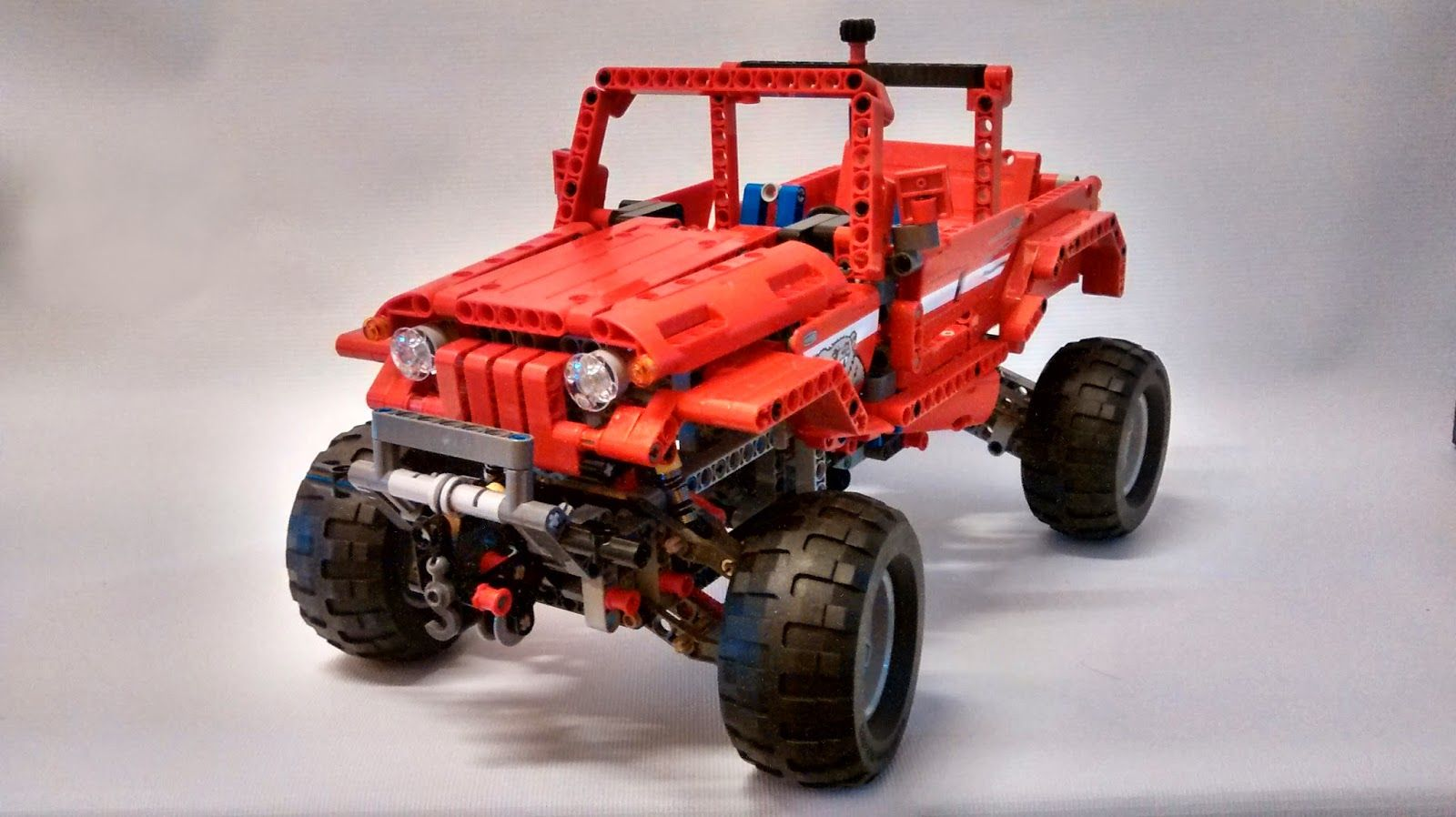 lego technic c model jeep 42029 lego technic. Black Bedroom Furniture Sets. Home Design Ideas