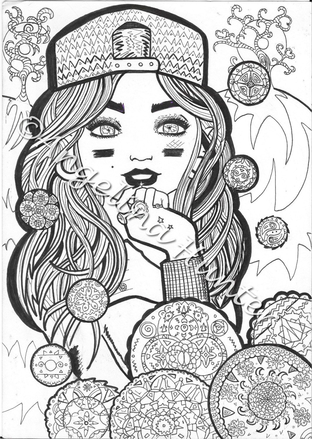 Girly Coloring Pages To Print