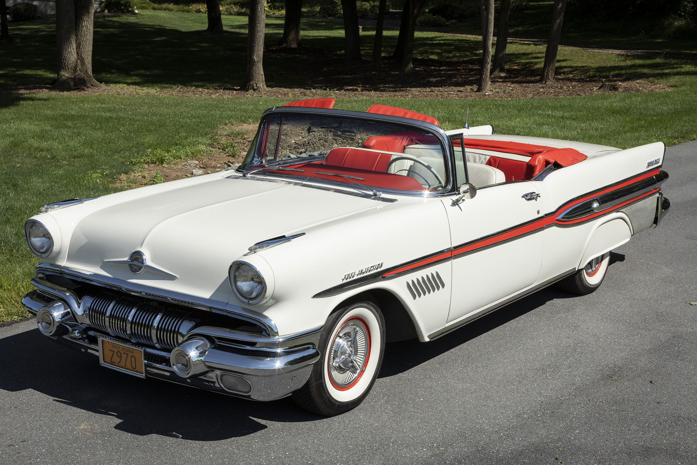 Rare 1957 Pontiac Bonneville Only 630 Produced