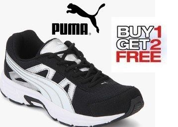 Jabong Buy 1 Get 2 Free Offer : Puma, Reebok, Fila Sports Shoes Buy