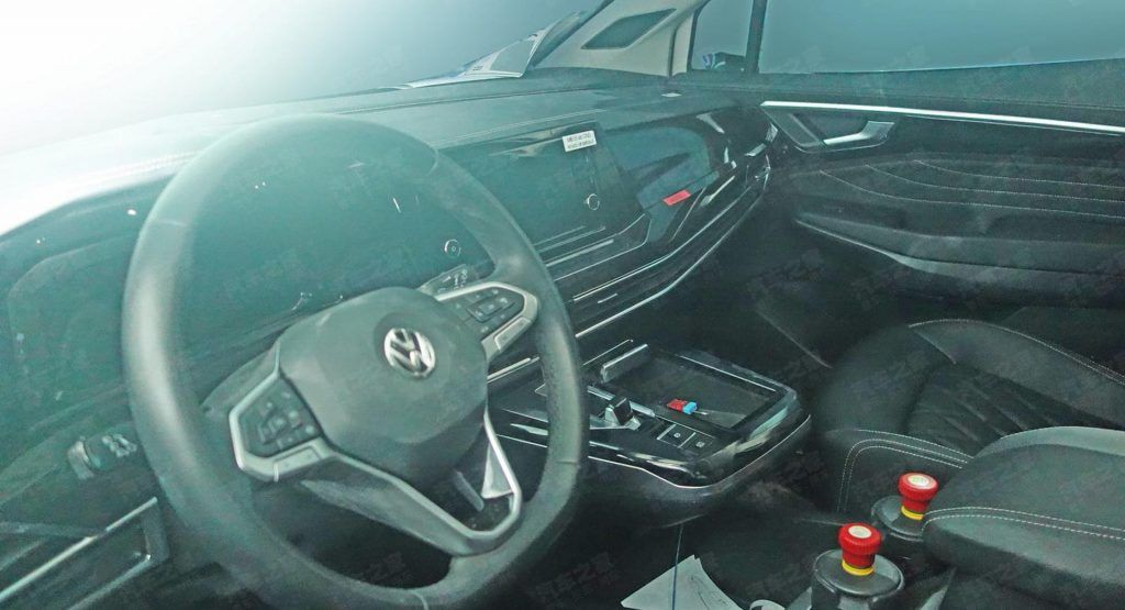 See The Interior Of China S Vw Smv The Brand S Largest Suv In 2020 Large Suv Super Cars Suv