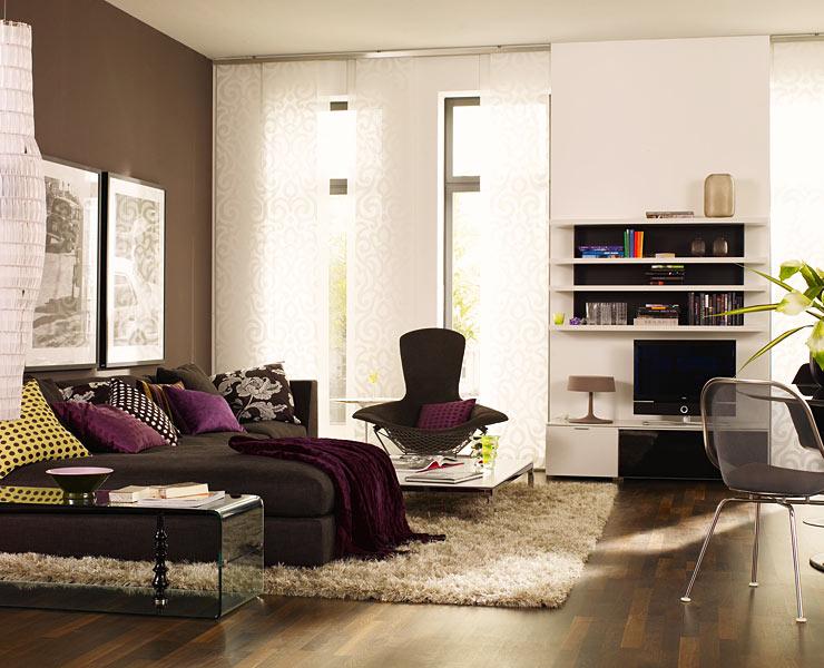 wohntipps f rs wohnzimmer braun wohnzimmer und wohnzimmer tapeten ideen. Black Bedroom Furniture Sets. Home Design Ideas