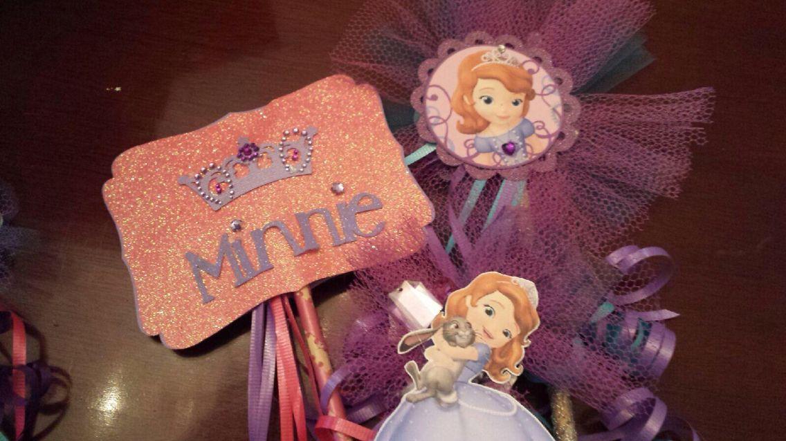 Minnie's birthday Decore Christmas ornaments, Minnie