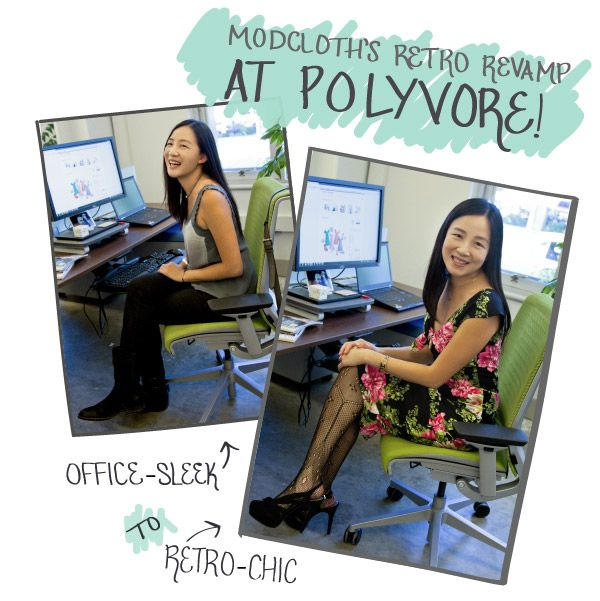 From office-sleek to retro-chic! #style