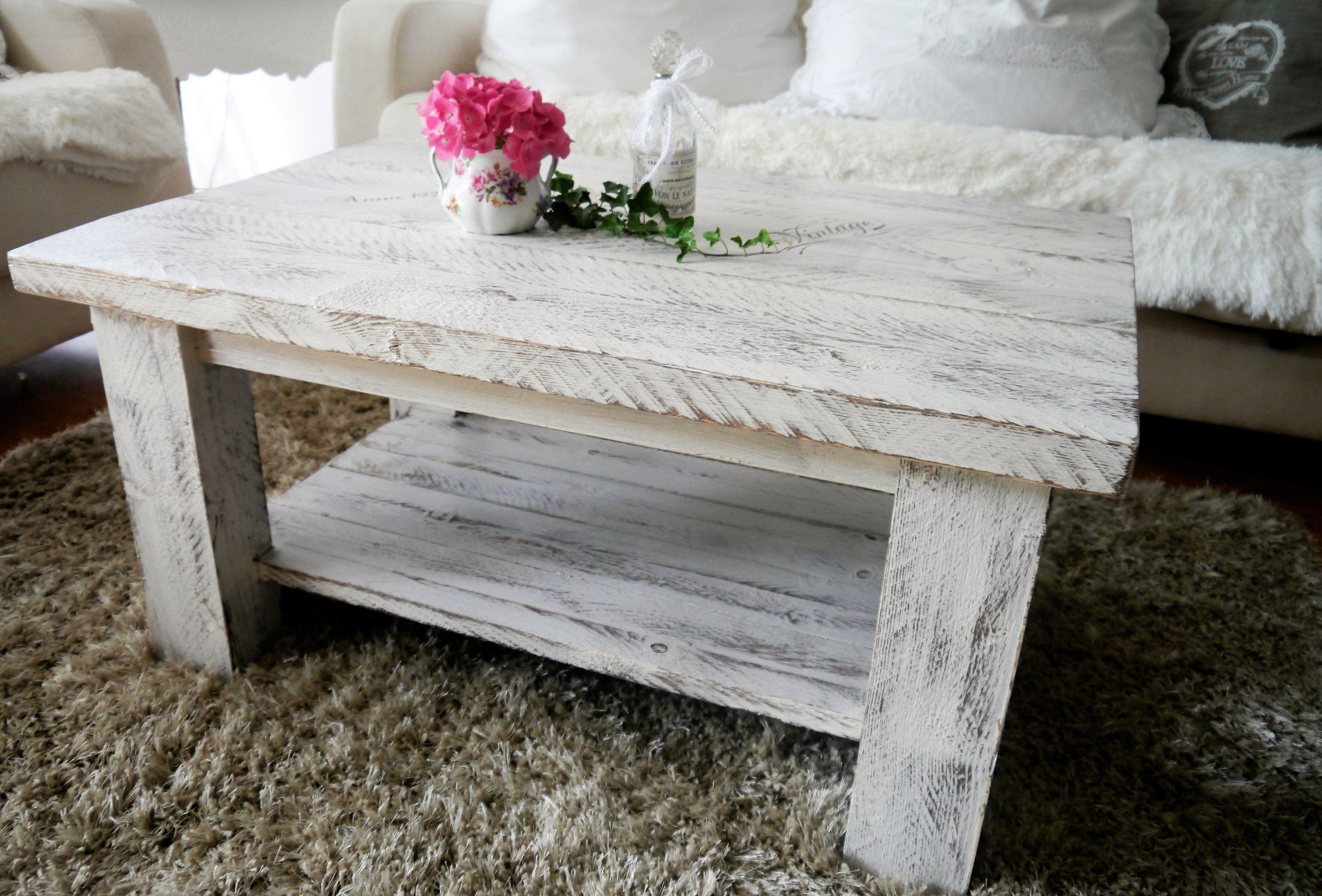 Elegant Couchtisch Holz Massiv Galerie Von Mit Ablage ♥tisch Handarbeit