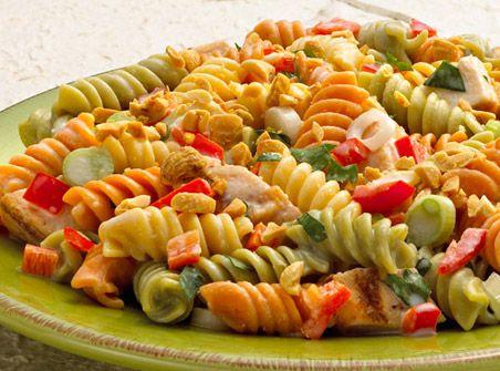 Ronzoni Garden Delight Thai Chicken Pasta Salad Salads