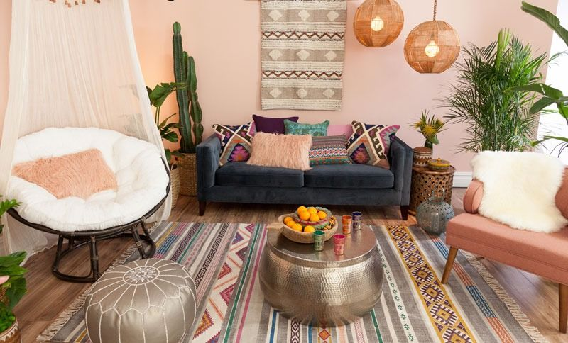 Bring A Bit Of Bohemian Chic To Your Space With Our Nomad