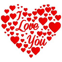 Afbeeldingen Hartjes Valentijn