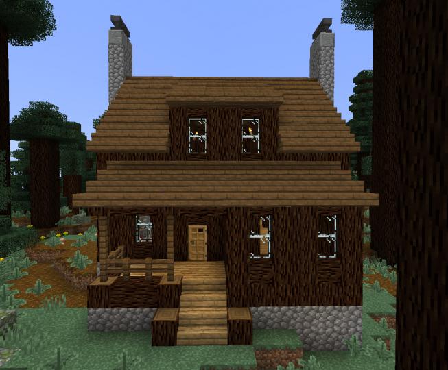Log Cabin  Remake  Minecraft Map