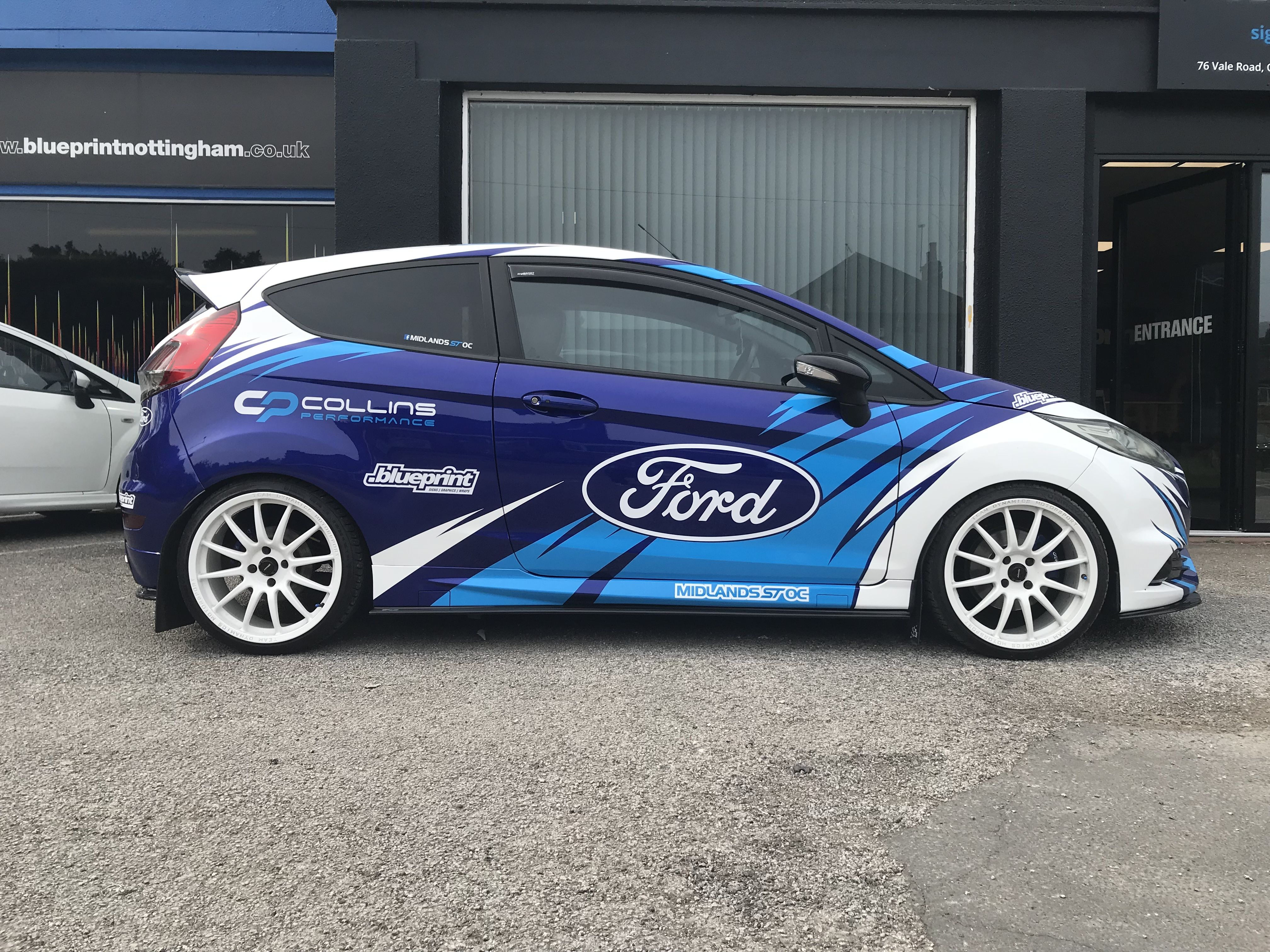 Ford Fiesta St3 Collins Performance Cp2 Ford Motorsport Ford