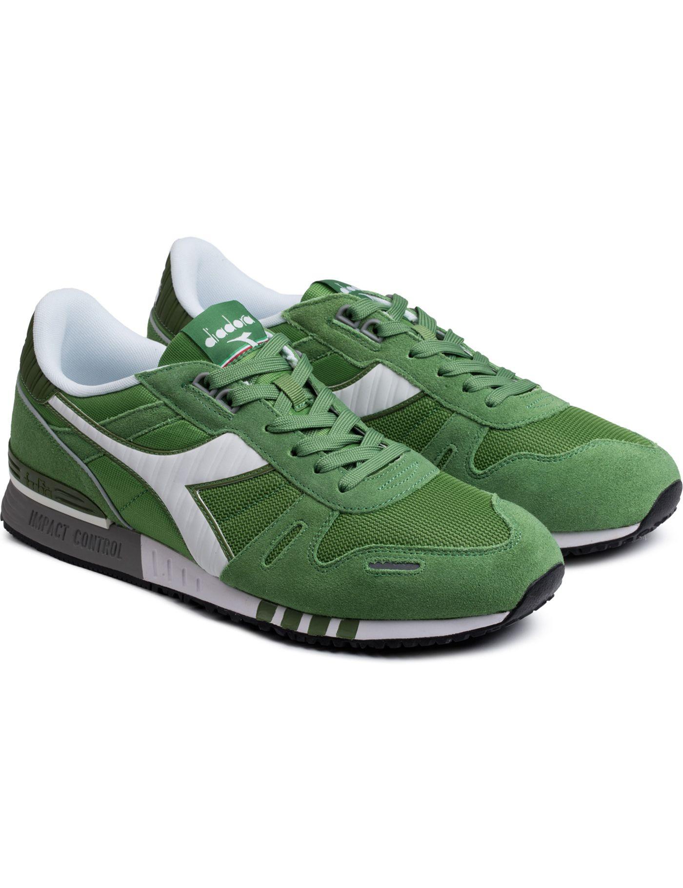 Green Willow Bough/White Titan II Sneakers