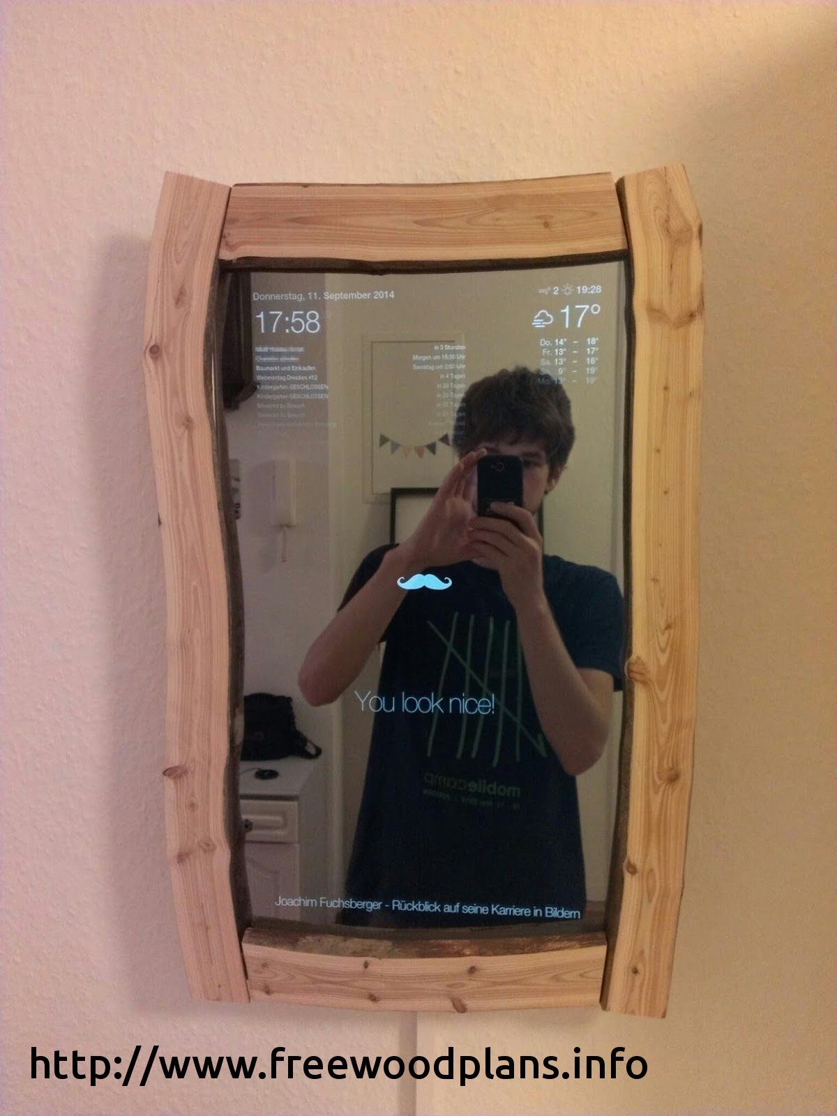 201 Metal Detector Wand Woodworking 2018 These Free Woodworking Plans Will Help Beginners All The Way Up To Expert Abi Magic Mirror Smart Mirror Computer Diy