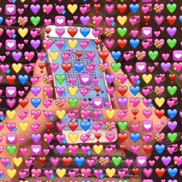 Love Emoji Cute Love Memes Love Memes Heart Meme