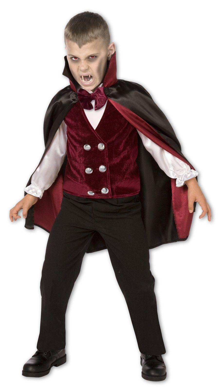 Transylvanian Vampire Child Costume | Children costumes, Costumes ...