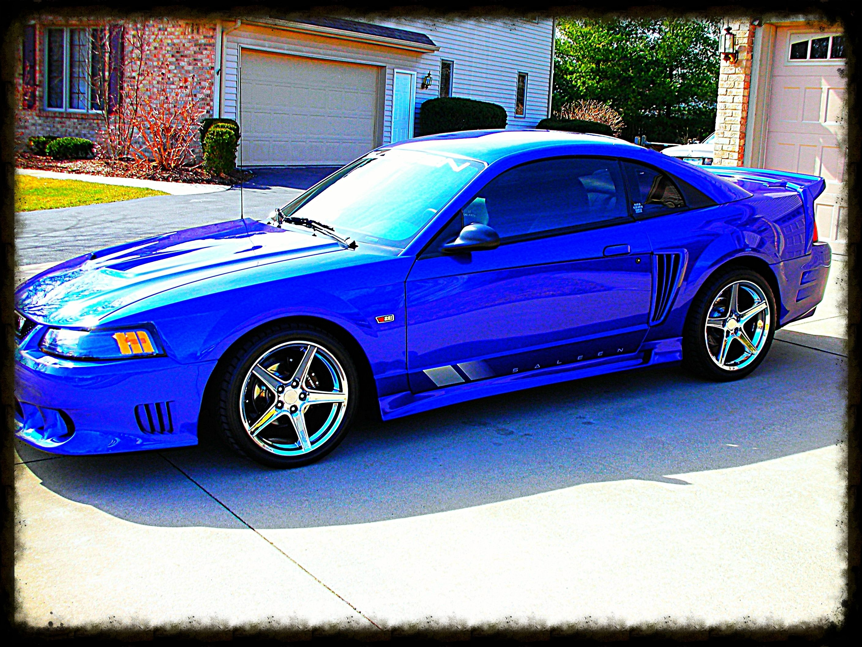 My 2003 Saleen Sonic Blue Supercharged 1 Of 8 170 Saleen